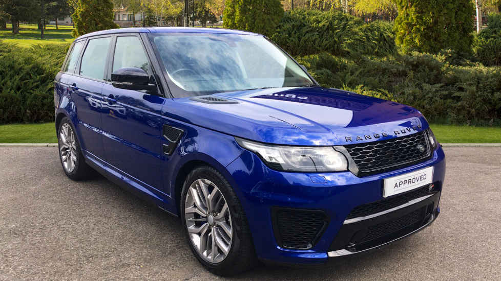 Land Rover Range Rover Sport 5.0 V8 S/C SVR 5dr - Sliding Panoramic Roof - Privacy Glass - Head Up Display -  Automatic Estate (2016) image