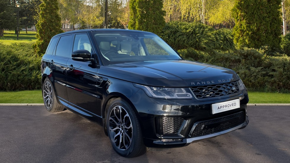 Land Rover Range Rover Sport 2.0 P400e HSE Silver 5dr Auto Petrol/Electric Automatic 4x4 (2020)