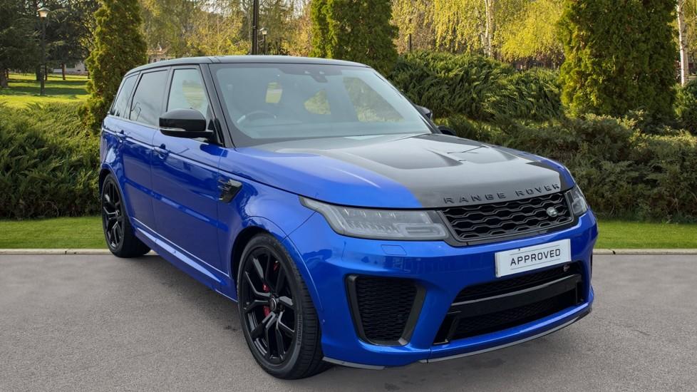 Land Rover Range Rover Sport 5.0 P575 S/C SVR 5dr Auto Adaptive Cruise Control with Stop & Go, Bonnet: exposed Carbon Fibre Automatic 4x4 (2020) image
