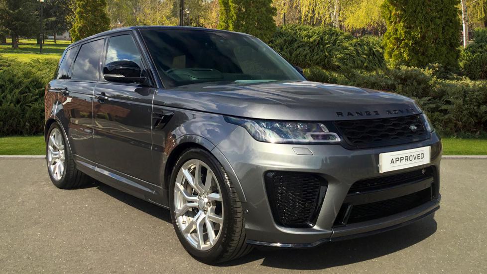 Land Rover Range Rover Sport 5.0 V8 S/C 575 SVR 5dr Automatic Estate (2018) image
