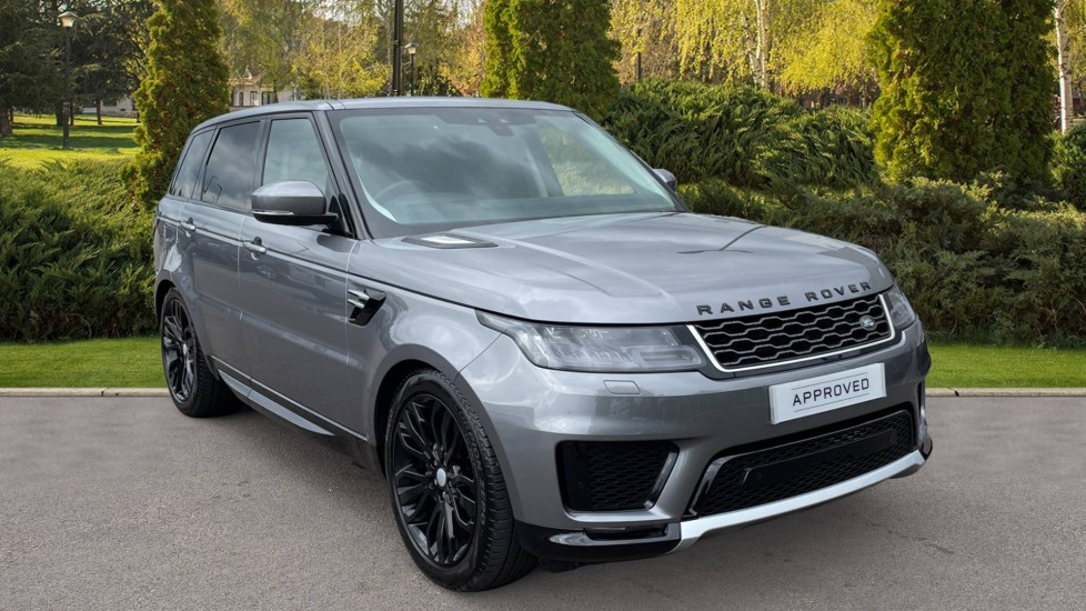 Land Rover Range Rover Sport 3.0 SDV6 HSE 5dr Heated front and rear seats, Matrix LED headlights with signature DRL Diesel Automatic 4x4 (2019)