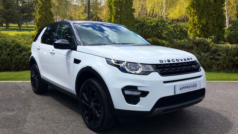 Land Rover Discovery Sport 2.0 TD4 180 HSE Black 5dr Diesel Automatic 4 door 4x4 (2017) image