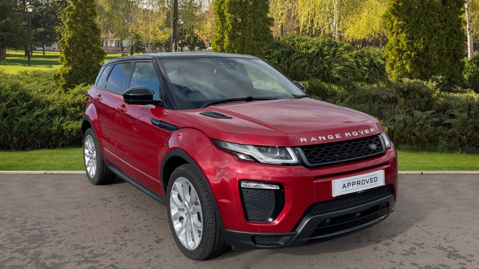 Land Rover Range Rover Evoque 2.0 TD4 HSE Dynamic Lux Privacy glass Heated steering wheel Diesel Automatic 5 door Hatchback