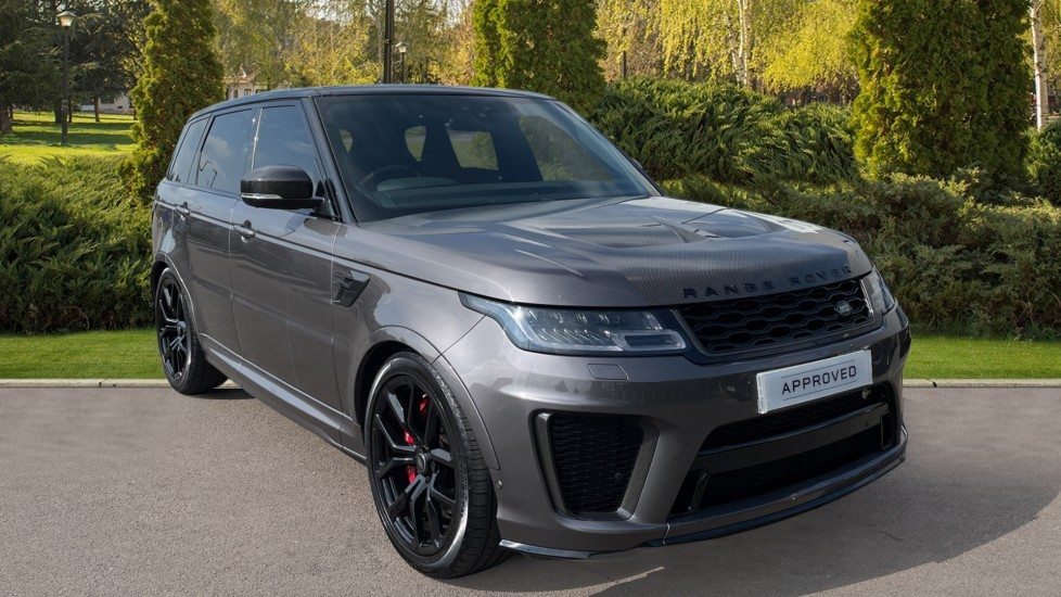 Land Rover Range Rover Sport 5.0 V8 S/C 575 SVR 5dr Sliding panoramic roof, Soft door close Automatic 4x4 (2019)