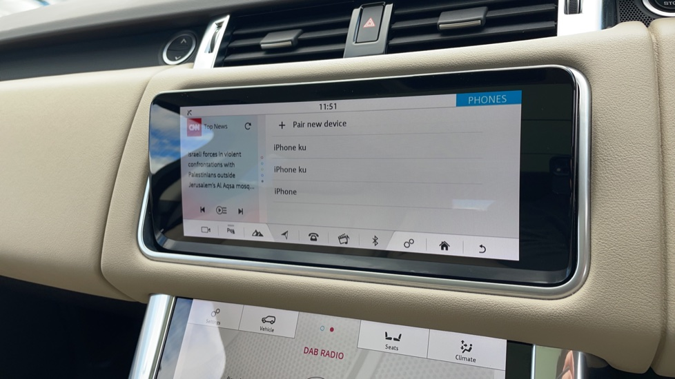 Land Rover Range Rover Sport 2.0 P400e HSE Fixed panoramic roof Meridian Surround Sound System image 24