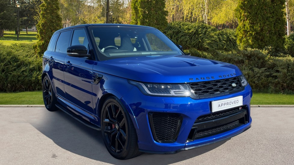 Land Rover Range Rover Sport 5.0 V8 S/C 575 SVR 5dr Automatic 4x4