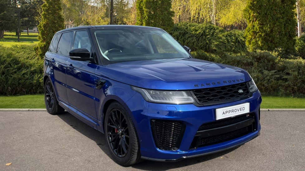 Land Rover Range Rover Sport 5.0 V8 S/C 575 SVR 5dr Adaptive Cruise Control with Stop & Go Heated steering wheel Automatic 4x4 image
