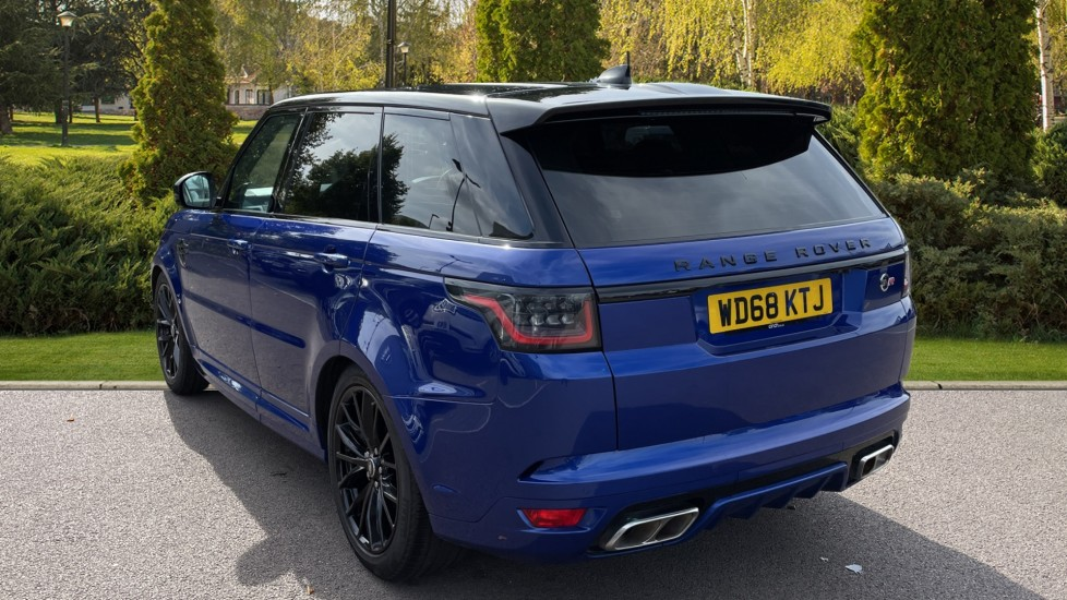 Land Rover Range Rover Sport 5.0 V8 S/C 575 SVR 5dr Adaptive Cruise Control with Stop & Go Heated steering wheel image 2