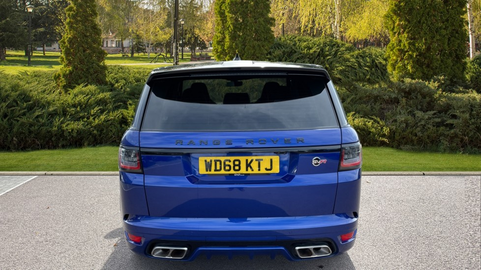Land Rover Range Rover Sport 5.0 V8 S/C 575 SVR 5dr Adaptive Cruise Control with Stop & Go Heated steering wheel image 6