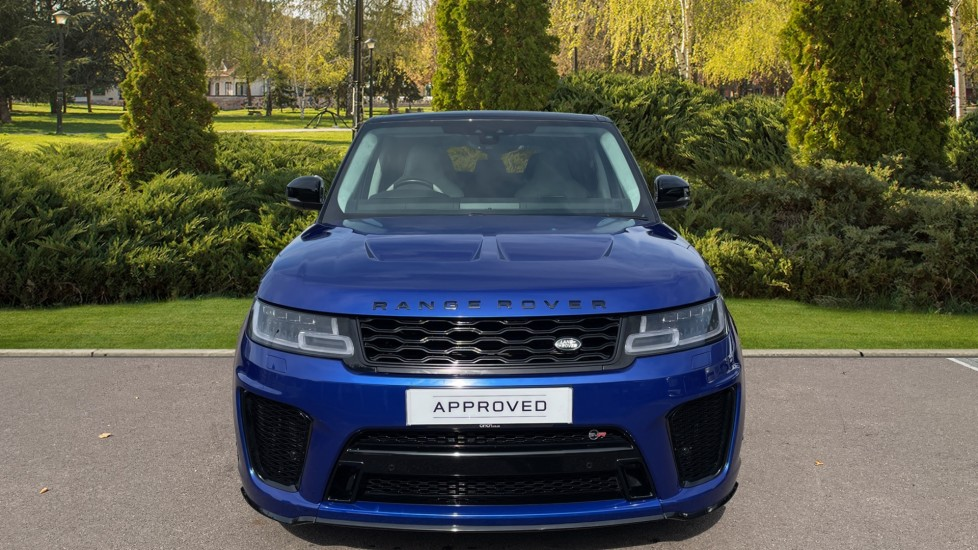 Land Rover Range Rover Sport 5.0 V8 S/C 575 SVR 5dr Adaptive Cruise Control with Stop & Go Heated steering wheel image 7