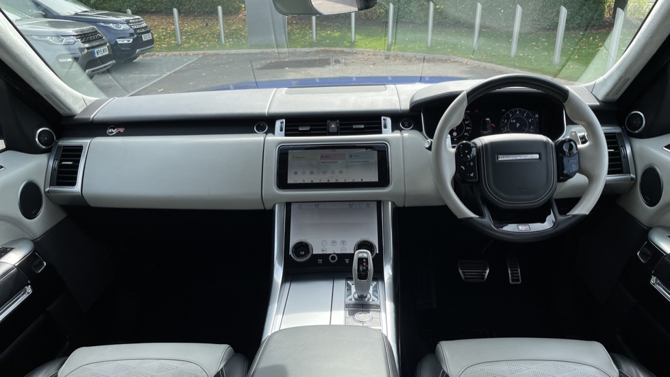 Land Rover Range Rover Sport 5.0 V8 S/C 575 SVR 5dr Adaptive Cruise Control with Stop & Go Heated steering wheel image 9