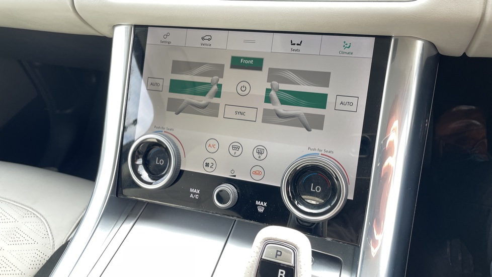 Land Rover Range Rover Sport 5.0 V8 S/C 575 SVR 5dr Adaptive Cruise Control with Stop & Go Heated steering wheel image 30
