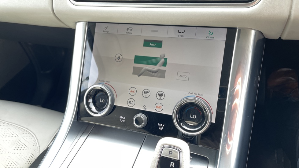 Land Rover Range Rover Sport 5.0 V8 S/C 575 SVR 5dr Adaptive Cruise Control with Stop & Go Heated steering wheel image 31