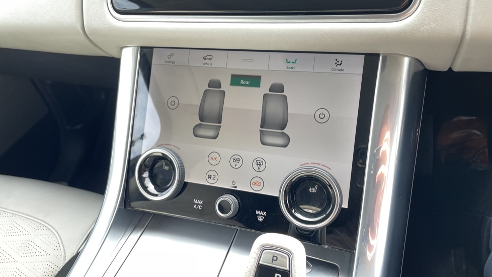 Land Rover Range Rover Sport 5.0 V8 S/C 575 SVR 5dr Adaptive Cruise Control with Stop & Go Heated steering wheel image 33