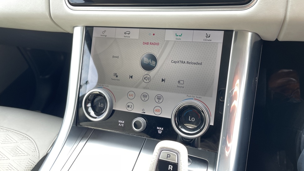 Land Rover Range Rover Sport 5.0 V8 S/C 575 SVR 5dr Adaptive Cruise Control with Stop & Go Heated steering wheel image 34