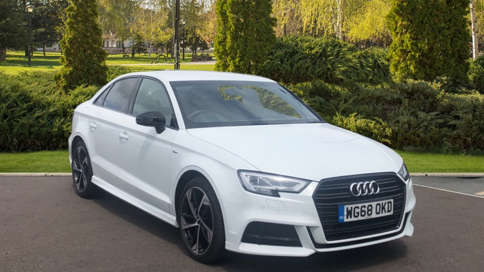 Audi A3 35 TFSI Black Edition S Tronic 1.5 Automatic 4 door Saloon (2018)