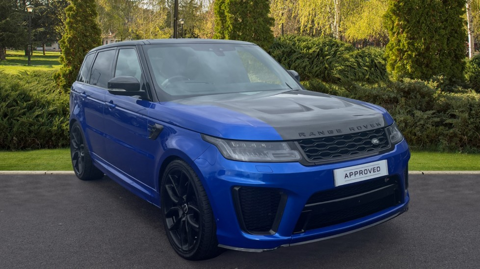 Land Rover Range Rover Sport 5.0 V8 S/C 575 SVR Sliding panoramic roof, 360-degree Surround Camera Automatic 5 door 4x4