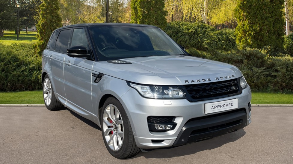 Land Rover Range Rover Sport 3.0 SDV6 Autobiography Dynamic 5dr with Rear Seat Entertainment and Climate Seats Diesel Automatic 4x4