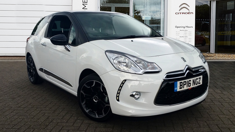 Used DS 3 Hatchback 1.6 BlueHDi DStyle 3dr (start/stop)