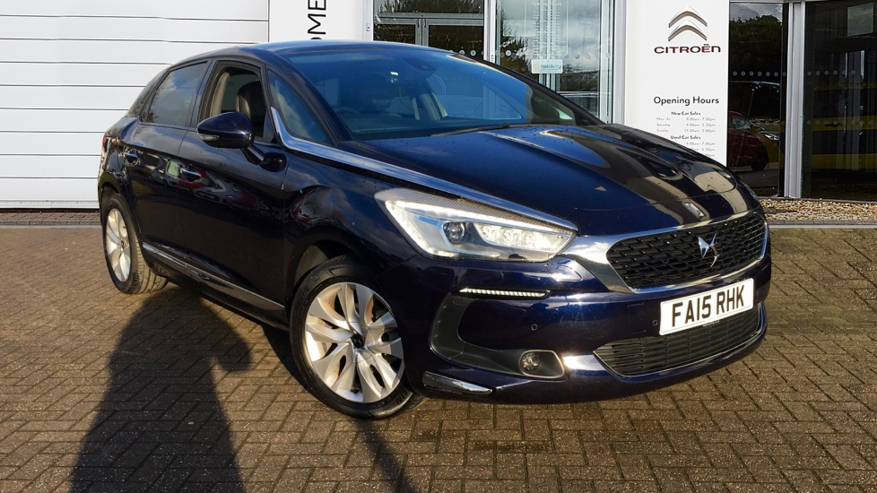 Used DS 5 Hatchback 1.6 BlueHDi Elegance 5dr (start/stop)