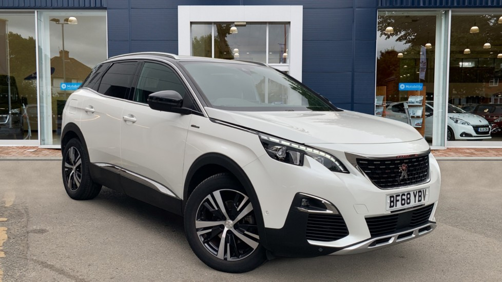 Used Peugeot 3008 SUV SUV 1.2 PureTech GT Line (s/s) 5dr