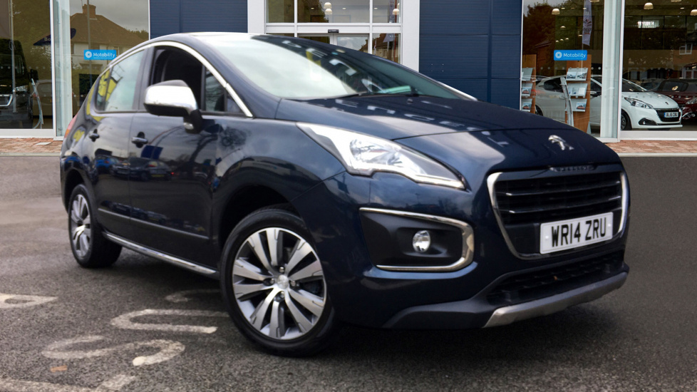 Used Peugeot 3008 SUV 1.6 HDi FAP Active 5dr