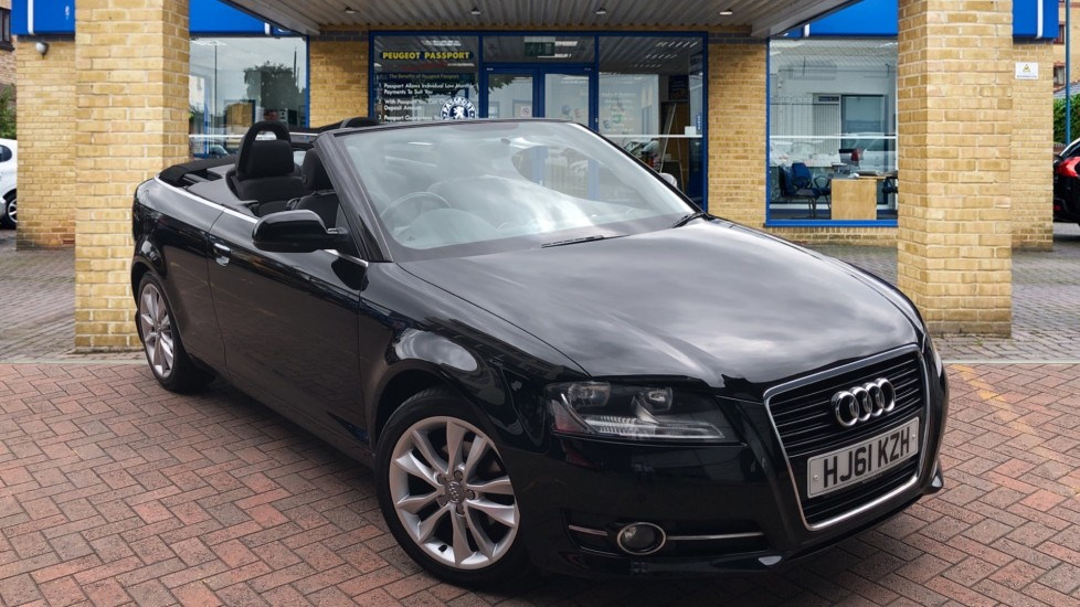 Used Audi A3 Cabriolet Convertible 1.2 TFSI Sport 2dr