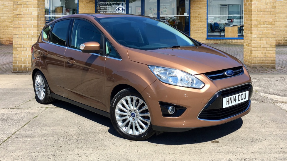 Used Ford C-MAX MPV 2.0 TDCi Titanium Powershift 5dr