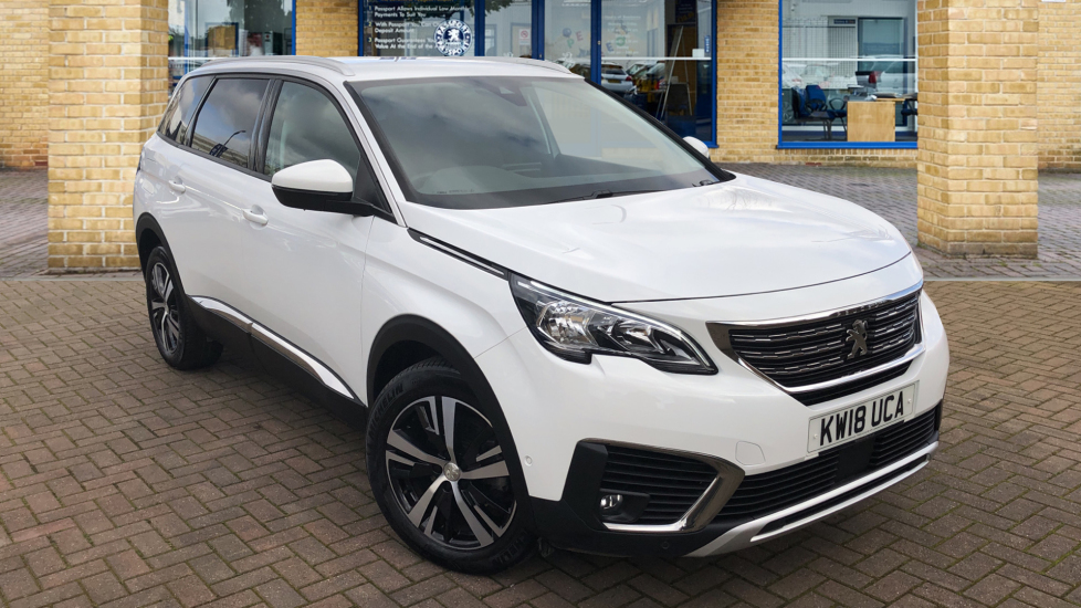 Used Peugeot 5008 SUV 1.6 THP Allure EAT (s/s) 5dr