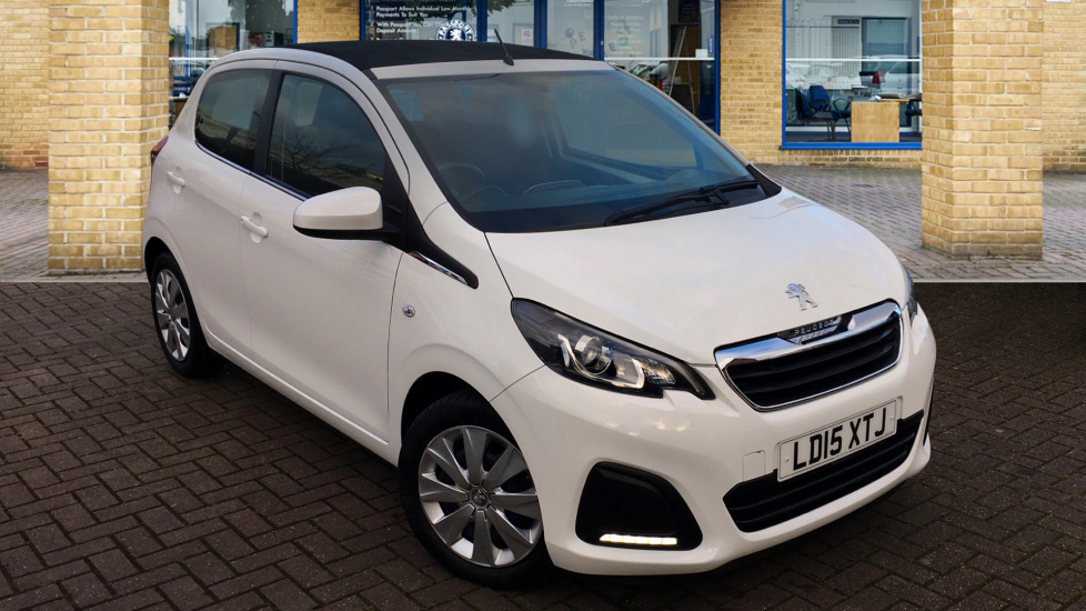 Used Peugeot 108 Convertible 1.0 Active TOP! (s/s) 5dr