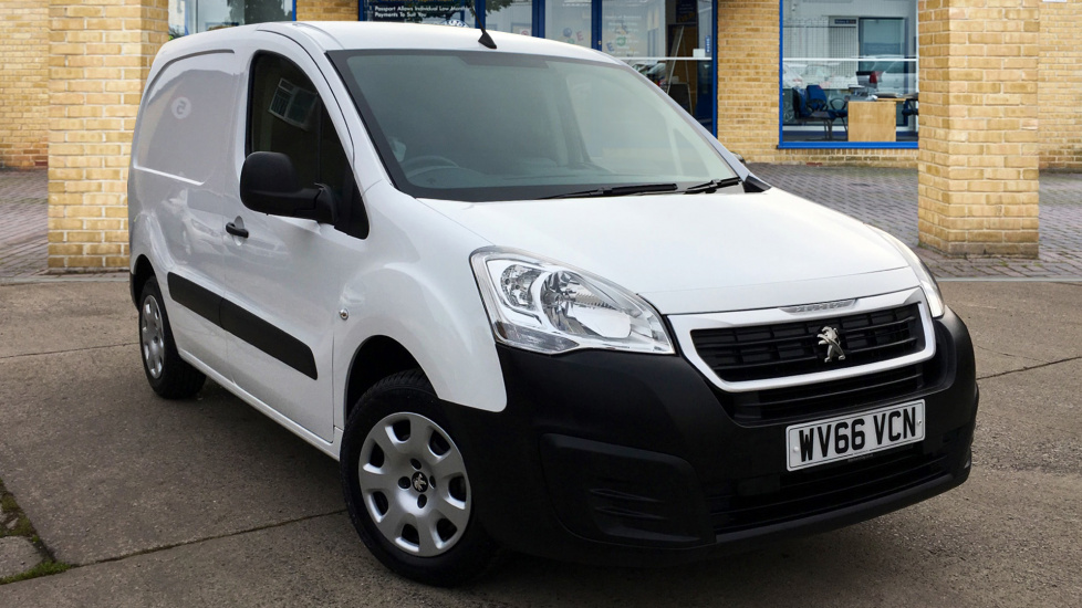 Used Peugeot PARTNER Panel Van 1.6 BlueHDi (Eu6) Professional L1 651 5dr