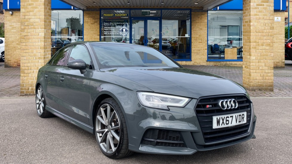Used Audi S3 Saloon 2.0 TFSI Black Edition S Tronic quattro (s/s) 4dr