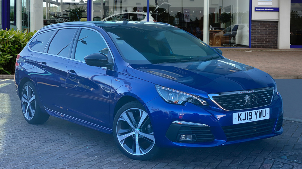 Used Peugeot 308 SW Estate 1.5 BlueHDi GT Line EAT (s/s) 5dr