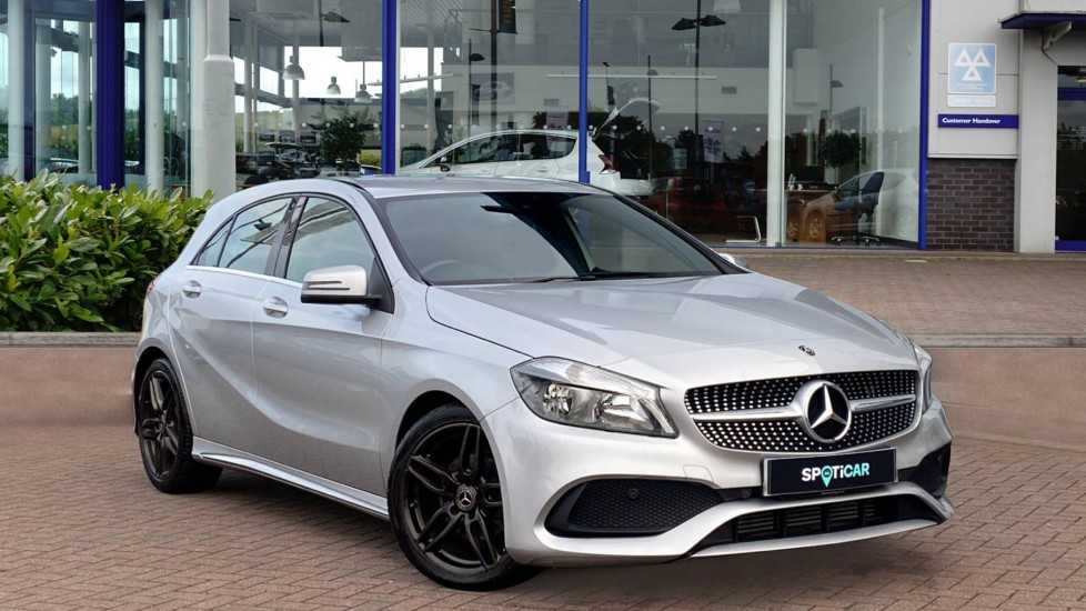 Used Mercedes-benz A Class Hatchback 1.5 A180d AMG Line (s/s) 5dr