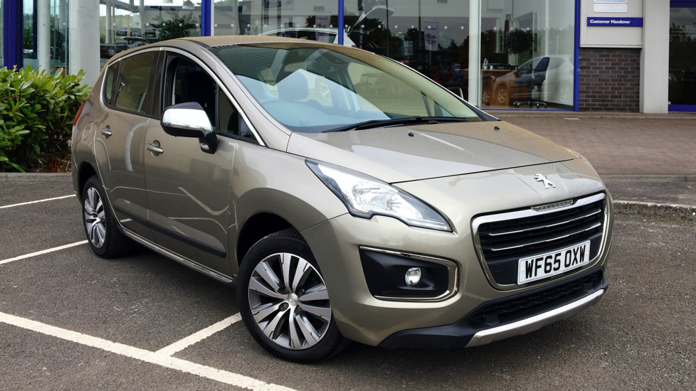 Used Peugeot 3008 SUV 1.6 HDi Active ETG (s/s) 5dr