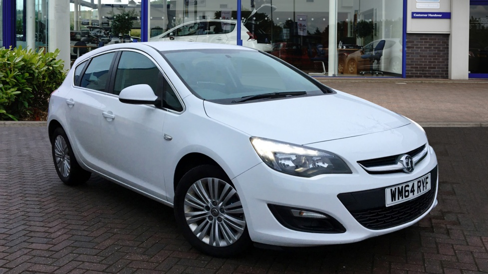 Used Vauxhall ASTRA Hatchback 1.6 CDTi ecoFLEX Excite 5dr (start/stop)