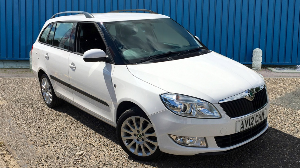 Used Skoda FABIA Estate 1.6 TDI CR DPF Elegance 5dr