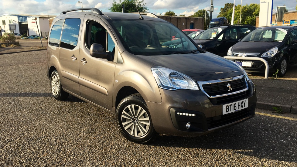 Used Peugeot PARTNER TEPEE MPV 1.6 BlueHDi Tepee Allure ETG 5dr (start/stop)
