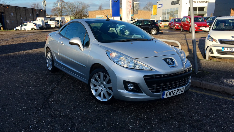 Used Peugeot 207 CC Convertible 1.6 VTi Allure 2dr