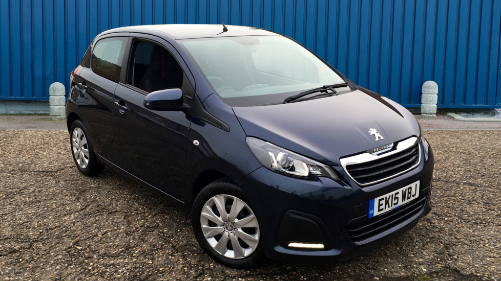 Used Peugeot 108 Hatchback 1.0 Active 2-Tronic 5dr