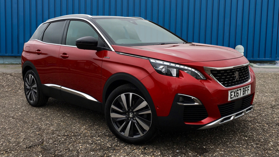 Used Peugeot 3008 SUV SUV 1.6 THP GT Line EAT6 (s/s) 5dr
