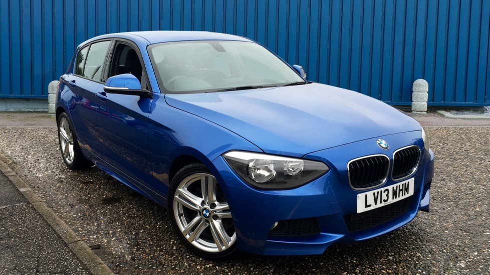 Used BMW 1 SERIES Hatchback 2.0 120d M Sport Sports Hatch 5dr