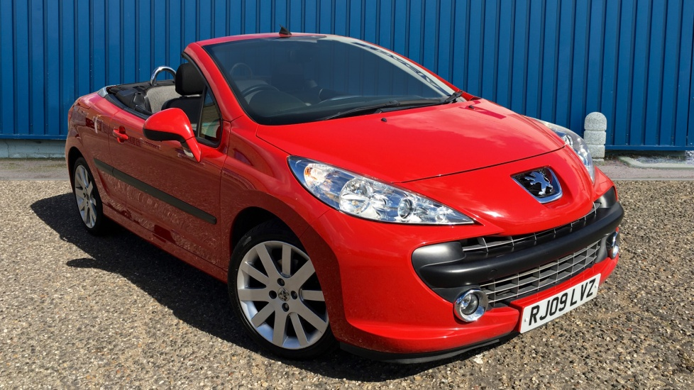 Used Peugeot 207 CC Convertible 1.6 THP GT 2dr