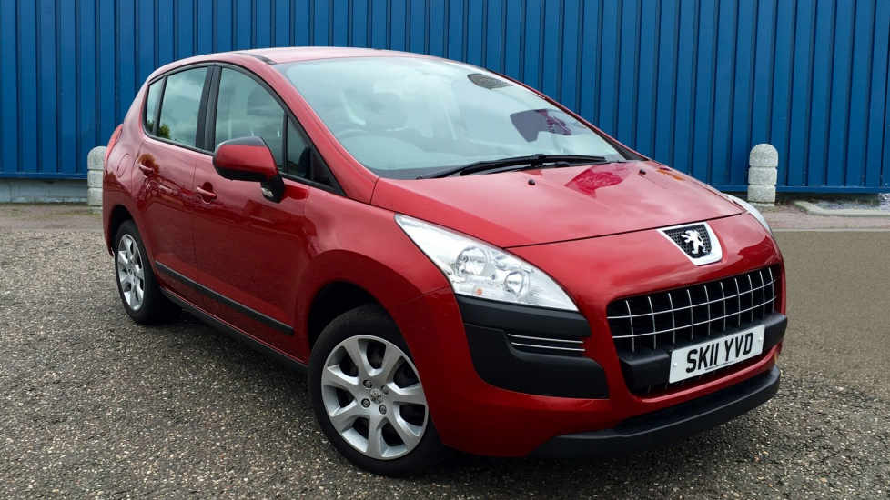 Used Peugeot 3008 SUV 1.6 HDi FAP Active SUV EGC 5dr