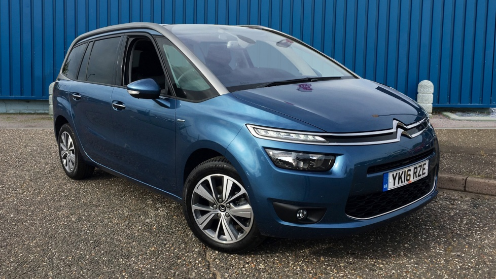Used Citroen GRAND C4 PICASSO MPV 1.6 BlueHDi Exclusive EAT6 5dr (start/stop)