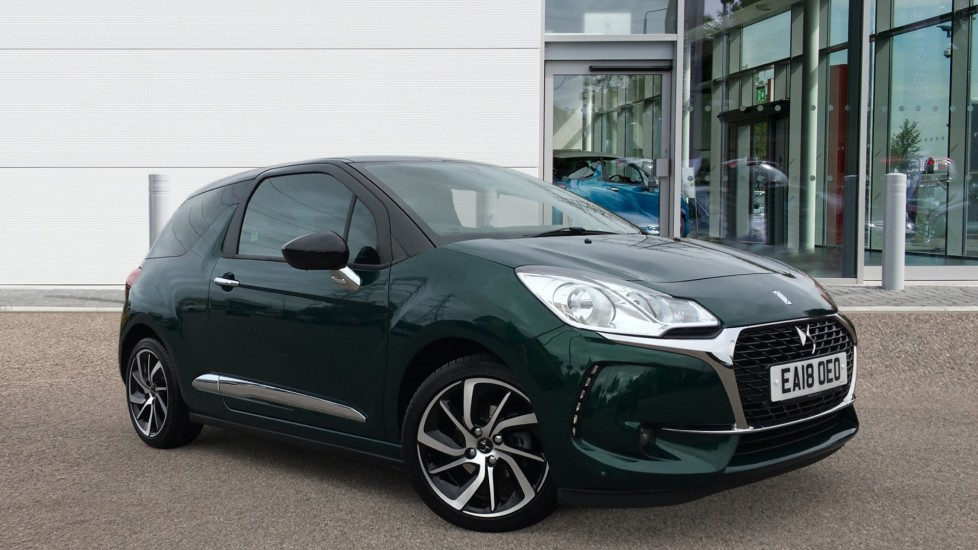 Used DS Automobiles DS 3 Hatchback 1.2 PureTech Connected Chic EAT6 (s/s) 3dr