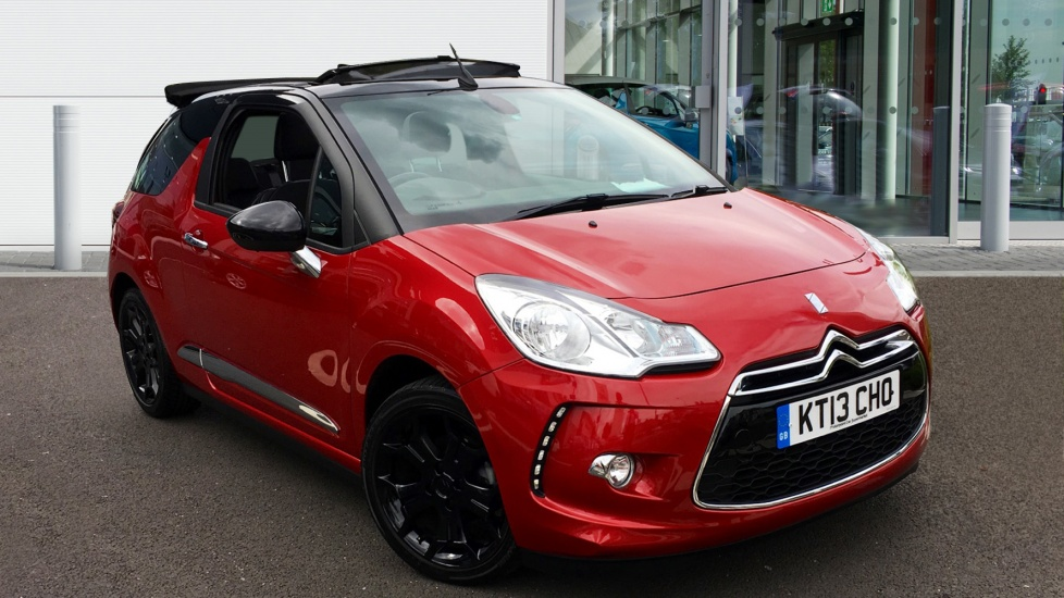 Used Citroen DS3 CABRIO Convertible 1.6 VTi DStyle Plus 2dr