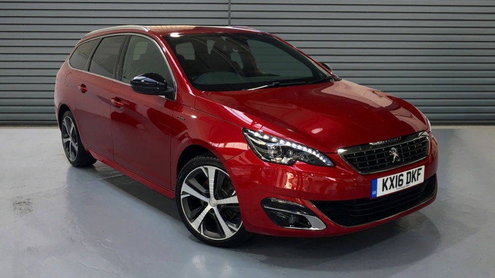 Used Peugeot 308 SW Estate 2.0 BlueHDi GT Line 5dr (start/stop)