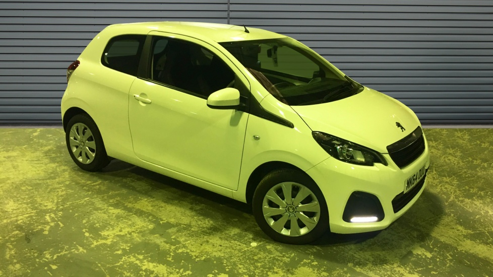 Used Peugeot 108 Hatchback 1.0 Active (s/s) 3dr