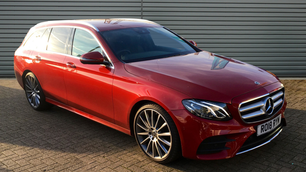 Used Mercedes-benz E CLASS Estate 2.0 E220d AMG Line 9G-Tronic (s/s) 5dr